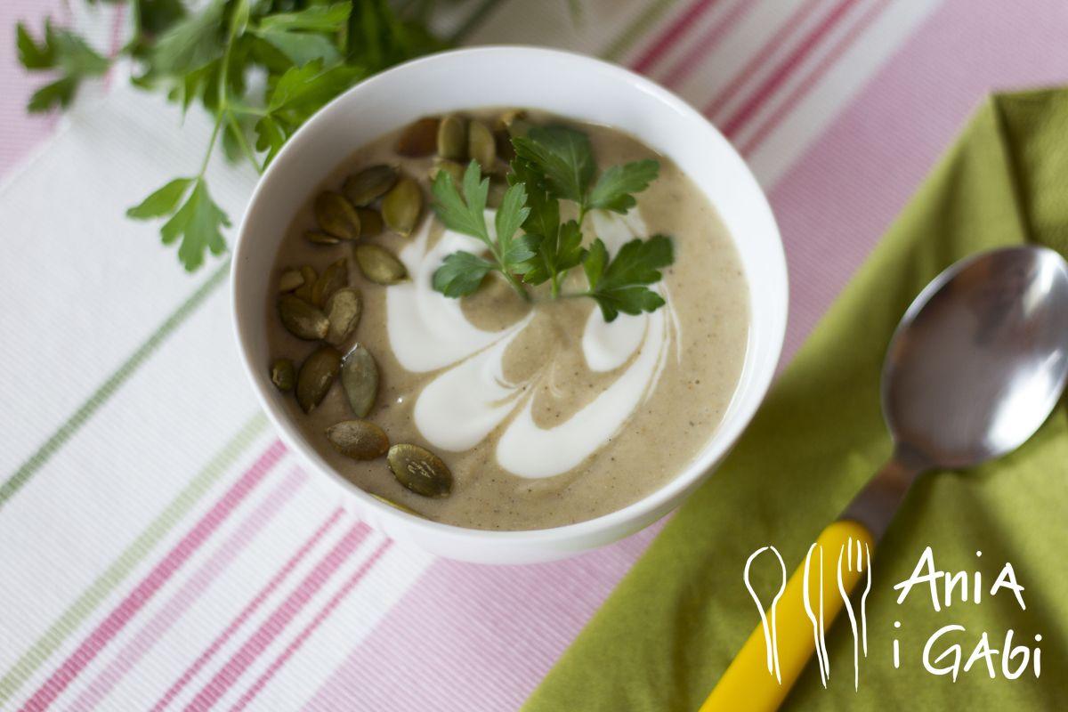 Selerowo-słonecznikowa zupa-krem