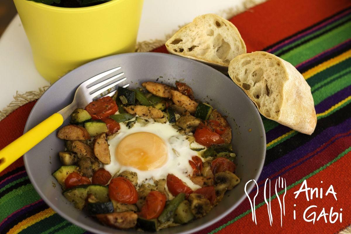 Warzywa z jajkiem, na każdą porę dnia!